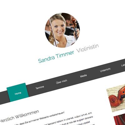 Musikerseiten | Webseiten für Musiker